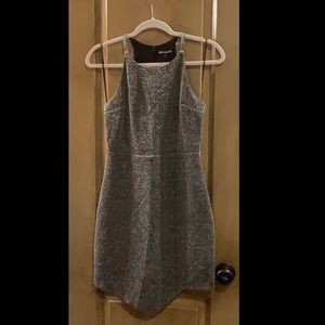 New express silver beautiful dress